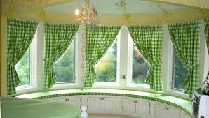 impressive bay window curtain rods concerning rustic article amusing window treatments for bow windows with seat pictures ideas