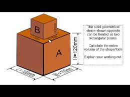 calculating the volume of a rectangular prism youtube