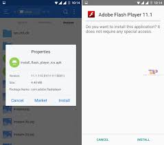 adobe flash player 11 1 for android how to install flash on android phones tablet devices