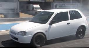 toyota white car bangshift com sleeper toyota starlet