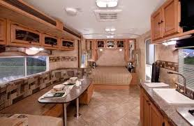 Camper Trailer Interior Ideas Roaming Times Rv News And Overviews