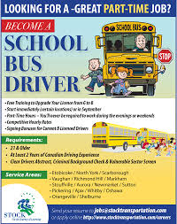 Resume To Job by Looking For A Great Part Time Job Become A Bus Driver