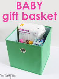 ideas for gift baskets baby gift basket