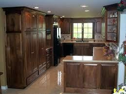 finished oak kitchen cabinets menards prefinished cabinets black walnut kitchen cabinets home