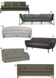 Pennie Sofa Get The Look 60 Modern Grey Sofas Paperblog