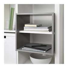 Kallax Kallax Shelf Divider Light Grey 33x33 Cm Ikea