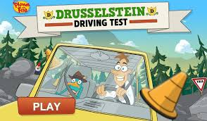 Phineas And Ferb Backyard Beach Game Drusselstein Driving Test Video Game Phineas And Ferb Wiki