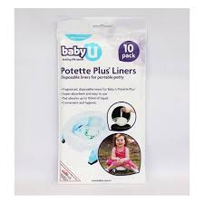 travel potty images Baby u potette plus travel potty disposable liners pack of 10 jpg