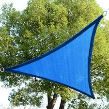 Canopy Triangle Sun Shade by New 16 5 U0027 Triangle Sun Shade Sail Canopy Outdoor Patio Blue Color