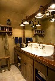 Western Vanity Lights Fabulous Bathroom Vanity Western Western Bathroom Vanity Light