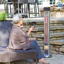 Freestanding Infrared Patio Heaters by Energ Freestanding Infrared Heater 5 100 Btu Patio Heaters