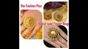 big finger rings images Stylish gold finger rings jpg