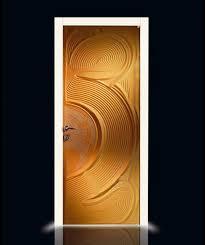 modern beautiful design of the room door design with dark brown