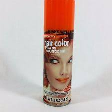 Halloween Hair Color Washes Out - spray orange temporary wash out hair color creams ebay