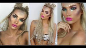 halloween makeup tutorial easy easy mermaid halloween makeuptutorial natalie boucher youtube