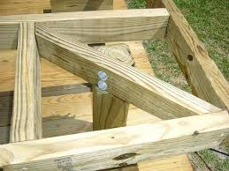 Wood Bench Plans Deck by 51 Best Cedar Deck Designs Images On Pinterest Cedar Deck Deck