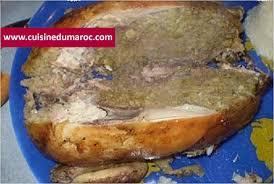cuisine marocaine poulet farci poulet farci au riz avec viande hachée