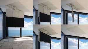porta tv soffitto tv moving chrst staffa tv motorizzata da soffitto per tv