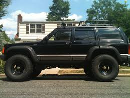 jeep lifted 6 inches 1995 fs nj jeep cherokee 4x4 lifted and 33 inch tires
