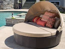 Daybed With Canopy Awesome Outdoor Round Daybed With Adjustable Canopy Made With All