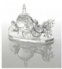 Princess Carriage Centerpiece Cinderella Crystal Wedding Coach Shannon By Godinger Wedding