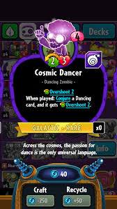 cosmic dancer plants vs zombies wiki fandom powered by wikia