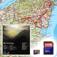 map of maryland delaware and new jersey garmin huntview map card delaware maryland new jersey and
