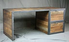Distressed Office Desk Awesome Office Desk Recycled Wood Furniture Salvaged Table Picture