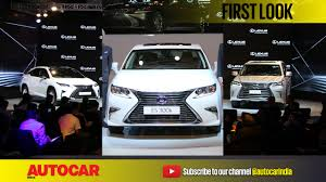 lexus india lexus india range first look video just breaking news