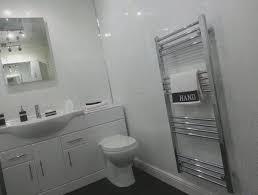 bathroom interior white sparkle bathroom wall panels white