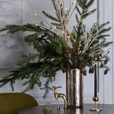 White Decorative Branches Light Up White Branches West Elm