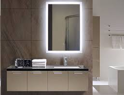 Illuminated Bathroom Mirror Cabinet by Illuminated Bathroom Mirror Lighted Wall Mirrors For Bathrooms
