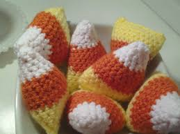 Candy Crafts For Halloween by How To Make A Crochet Candy Corn Craft For Halloween Youtube