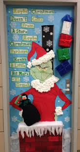cristmas door decorating doors door