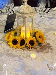 sunflower wedding sunflower wedding centerpieces archives oh best day