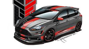 ford focus concept ford teases five sema bound focus st concept cars autoblog