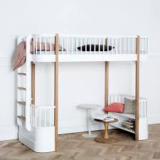 luxury white wood full size loft bed u2013 home improvement 2017