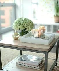 coffee table floral arrangements cocktail table centerpieces living room cocktail table decor coffee