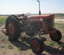 1964 massey ferguson 65 tractor with mower and back blade