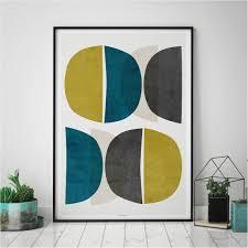 abstract wall art u2013 modern art prints u2013 minimalist print u2013 yellow