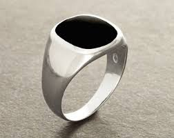 rings for men in pakistan signet rings etsy