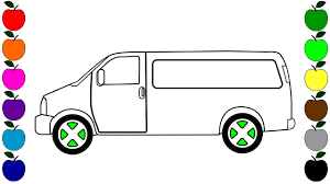 colouring videos car drawing for children coloring pages for