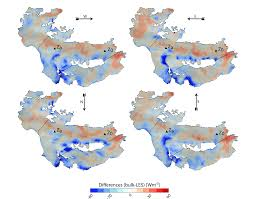 Wind Direction Map Effects Of Local Advection On The Spatial Sensible Heat Flux