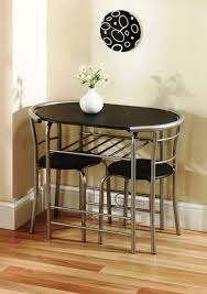 Space Saver Kitchen Tables by Chair Black Dining Room Set Wood For Goodly Ideas Round Table And