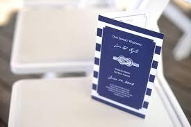 nautical wedding programs key west florida destination wedding the destination wedding