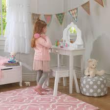 Coiffeuse Design Pour Chambre by Coiffeuse En Bois Et Tabouret Pour Enfant
