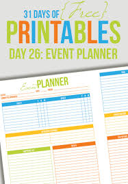 birthday party planner template event planner printable day 26 i heart planners event planner printable day 26