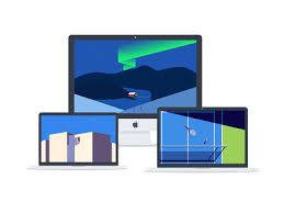 minimalist laptop minimalist wallpaper desktop or laptop illustration by iftikhar