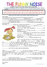 380 free esl irregular verbs worksheets