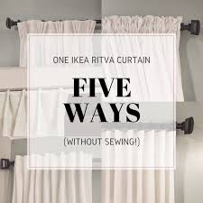 Ikea Vivan Curtains Decorating Ritva Lifestyled By Golden